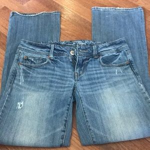 American eagle slim boot jeans! 6R